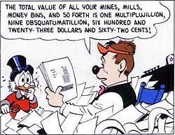 Scrooge-money