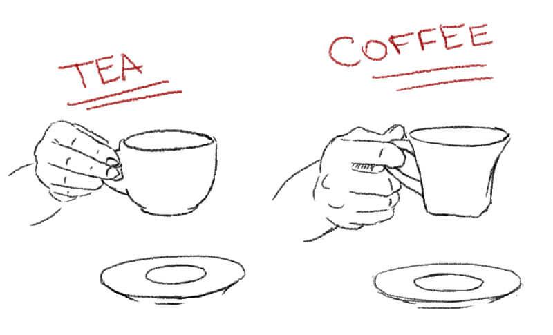 Café ou chá?